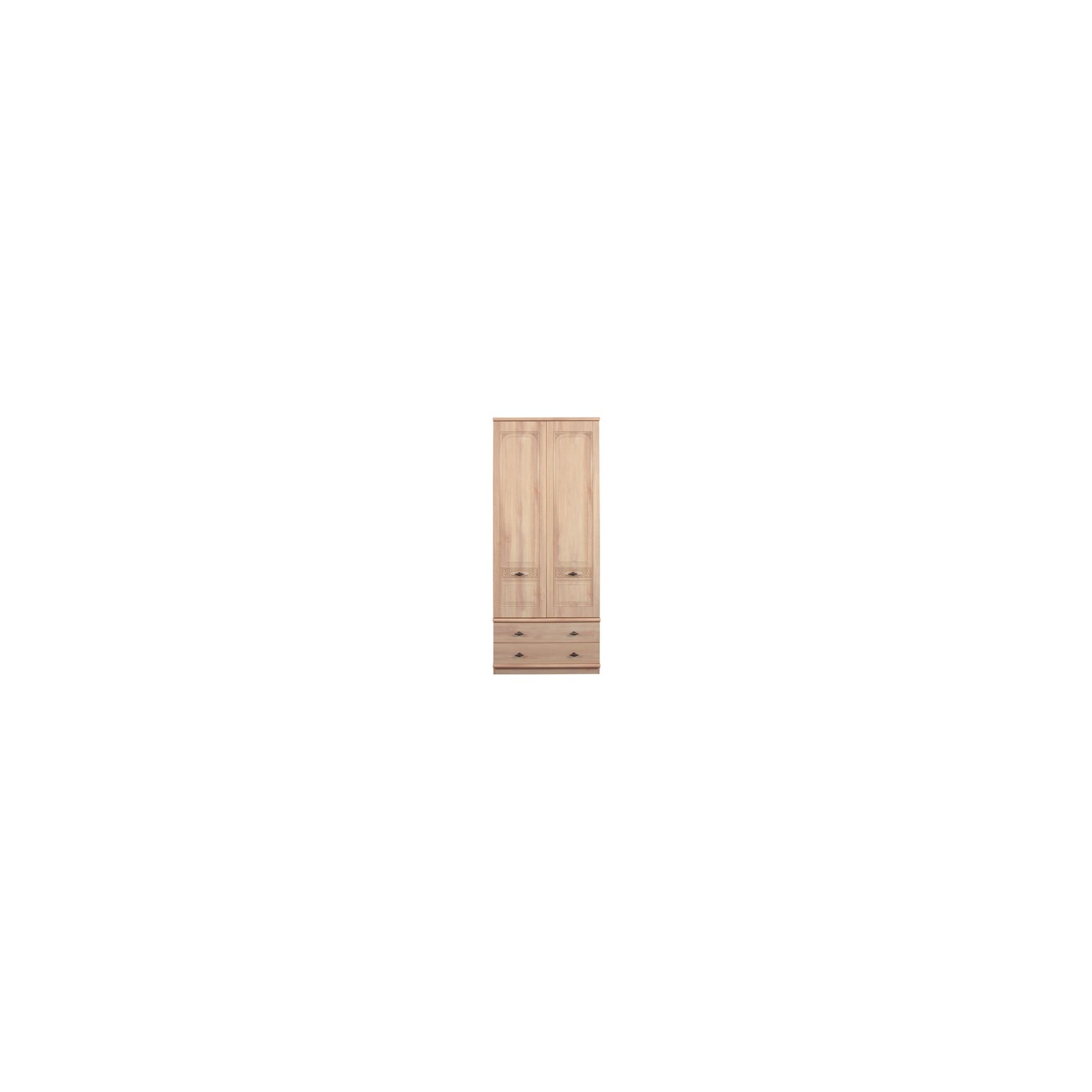 Caxton Florence Combination Wardrobe in Washed Oak Effect at Tesco Direct