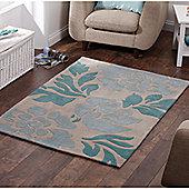 Oriental Carpets & Rugs Hong Kong 33L Beige/Blue Rug - 150cm x 230cm