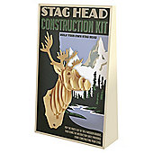 Stag Head (Large) Construction Kit