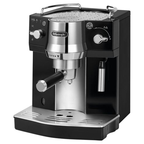 Buy DeLonghi EC820.B Pump Espresso Coffee Machine, Black/Silver from our Espresso Machines range ...