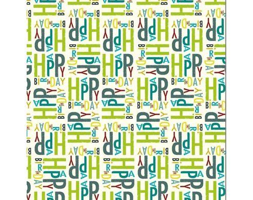Ink Press Wrap - Happy Birthday
