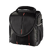 Hama Canberra 120 Camera Bag - Black/Red 103674