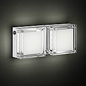 Wofi Jette Thirty Two Light Wall Light in Chrome