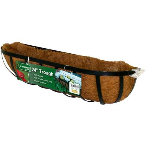 Buy Kingfisher 24in Trough Planter From Our Planters Range