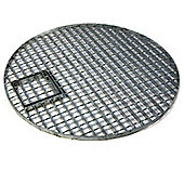 Round Galvanised Steel Water Feature Grid 87cm