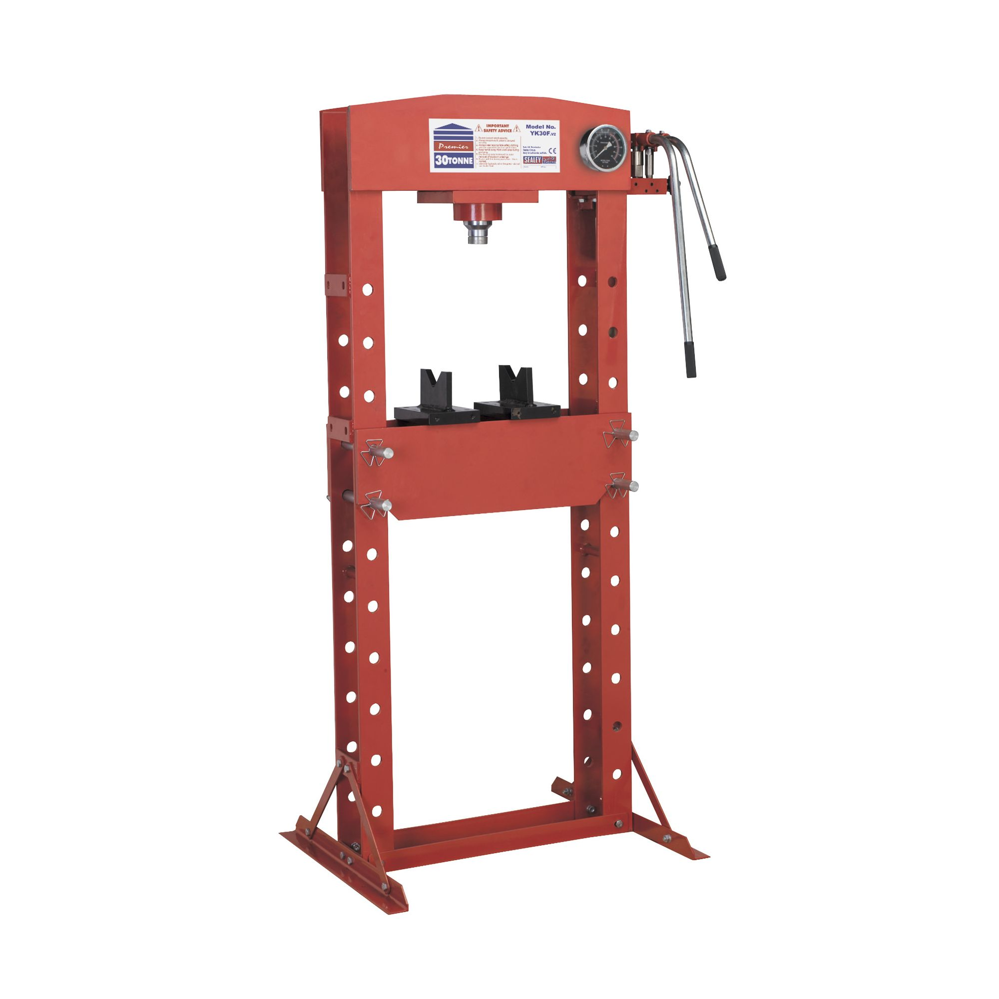 Hydraulic Press 30tonne Floor Type at Tesco Direct