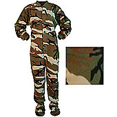 Men's All in One Pyjamas - Camouflage
