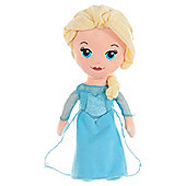 Disney Frozen Elsa Cute Large Soft Toy