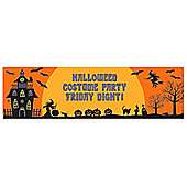 Halloween Decorations Giant Personalisable Banner - 5.4ft (each)
