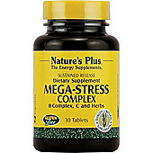 Natures Plus Mega Stress Complex Sustained Release 30 Tablets