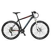 "Claud Butler Alpina 2.8 17"" Black Performance Mountain Bike"