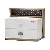 NewJoy Pink Bunny Children s Night Stand