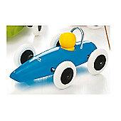 Brio Classic Race Car Blue