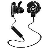 Monster iSport Bluetooth Wireless SuperSlim In-Ear Black Headphones