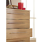 Ideal Furniture Budapest 7 Drawer Chest - Beech