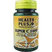 Health Plus Super C 1000 30 Veg Tablets