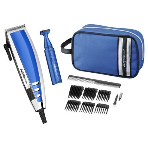 buy babyliss 7447gu deluxe hair clipper gift set from our body grooming range tesco. Black Bedroom Furniture Sets. Home Design Ideas