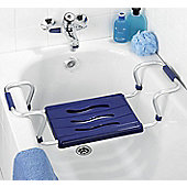 Wenko Bathtub Seat in Blue