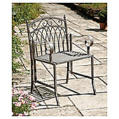 Verailles Garden Chair, Washed Grey