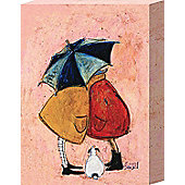 Sam Toft A Sneaky One Canvas Print