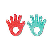 Mothercare Water Filled Hand Teether- 2 Pack