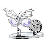 Crystocraft Special Nan Crystal Butterfly Ornament
