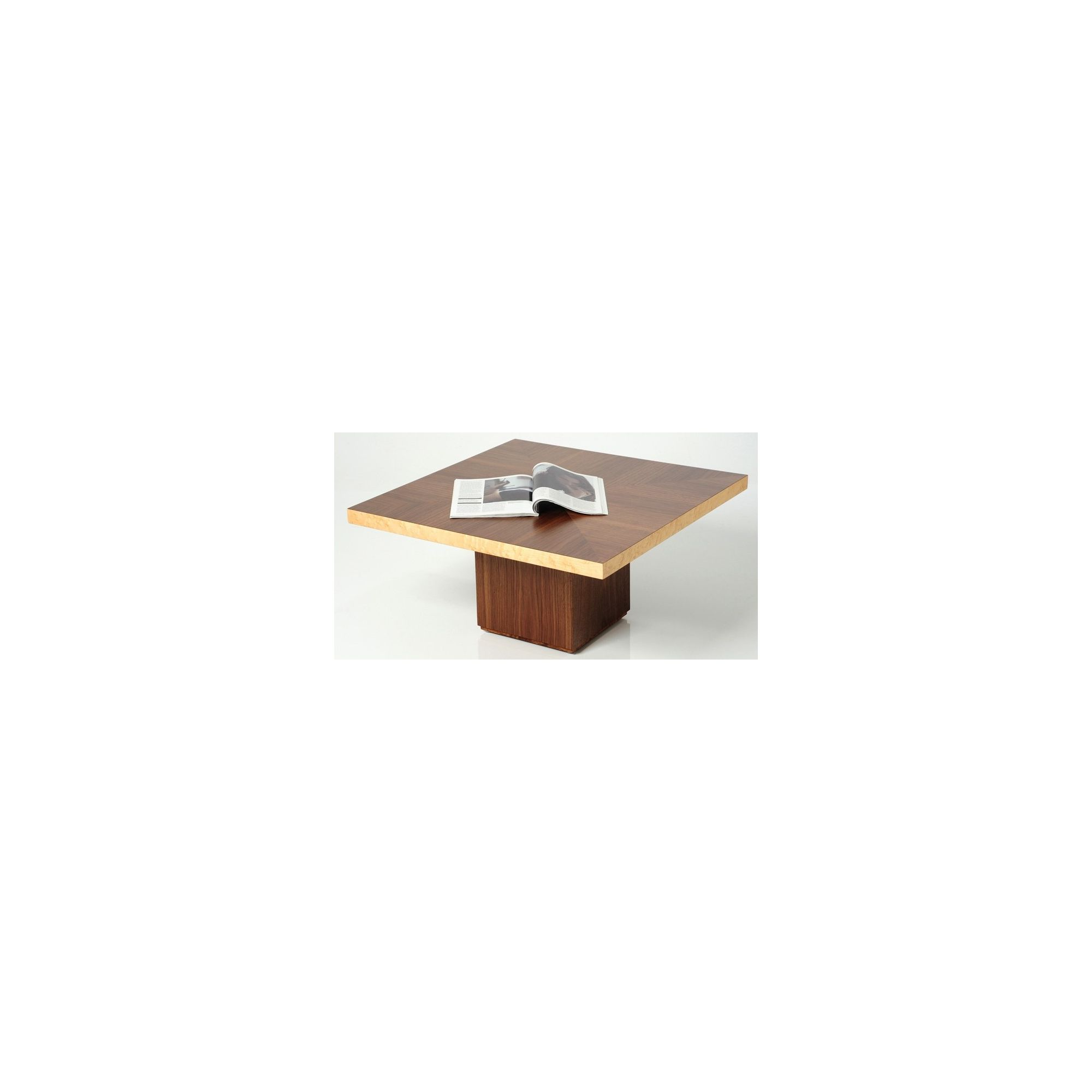 Trefurn Tablet Coffee Table - Black Walnut and Birds Eye Maple at Tesco Direct