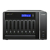 QNAP TS-879 Pro Tower Server 32TB (8x4TB) 8-Bay Turbo NAS for High-End Small and Medium Business Users