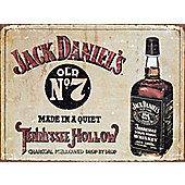 Jack Daniels Old No 7 Whiskey Metal Sign