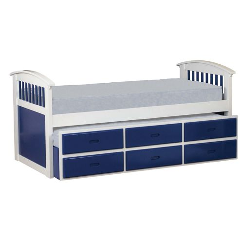 Sweet Dreams Ruby Captains Bed - Blue