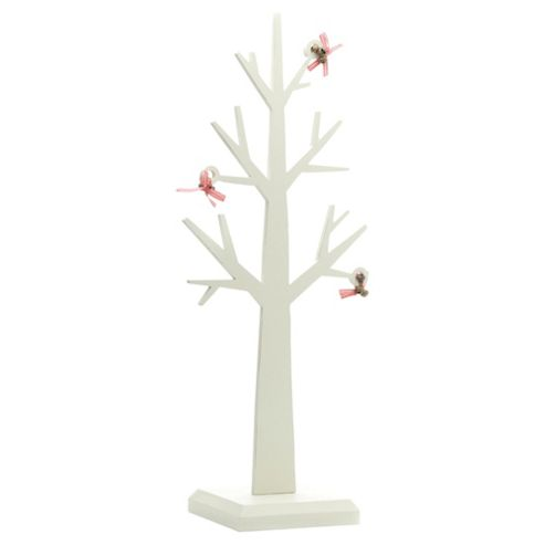 Festive 44cm Wooden Tree Christmas Decoration