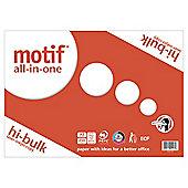 Motif A3 White Paper 250 Sheets