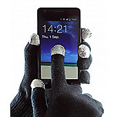 Touch Screen Gloves Large Black