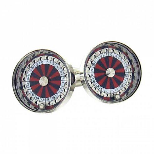 Maze Roulette Wheel Cufflinks