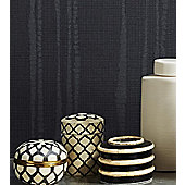 Graham & Brown Laddered Stripe Wallpaper - Midnight