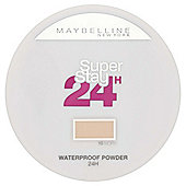 Maybelline Foundation Super Stay 24hr Powder 010 Ivory