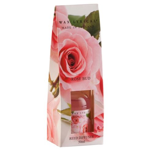Wax Lyrical Made In England 50Ml Reed Diffuser Rose Petal