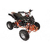 125cc 4 Stroke Quad Bike with Reverse Orange