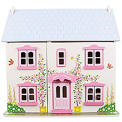 Bigjigs Toys JT101 Heritage Playset Rose Cottage