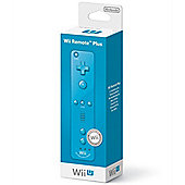 Wii U Remote Plus (Blue)