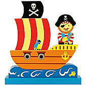 Bigjigs Toys BJ673 Vertical Magnetic Puzzle Pirate