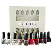 OPI TAKE TEN GIFT SET 10 X NAIL
