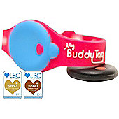 My Buddy Tag Pink with Free App Bluetooth Toddler / Child Proximity & Water Safety Alarm Wristband