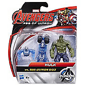 Marvel Avengers Age Of Ultron Hulk vs. Sub Ultron 003