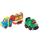 Vtech Baby Bundle - Toot-toot Drivers Fuel Tanker And Toot-toot Drivers Off-roader - 2 Items Supplied