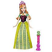 Disney Frozen Colour Change Feature Doll Anna