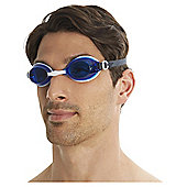 Speedo Adult Jet Blue White Goggles