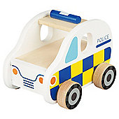 CAROUSEL WOODEN VEHICLE - POLICE CAR