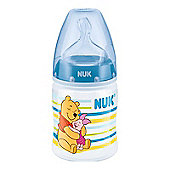 NUK Winnie The Pooh 150ml Silicone Bottle (Blue)