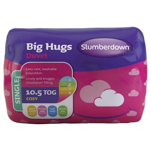 Slumberdown Single Duvet 10.5 Tog - Big Hugs